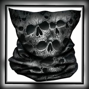 Spiral TWISTED SKULLS Multi-functional Face Wrap
